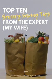 Top 10 Grocery Saving Tips from The Expert - My Wife